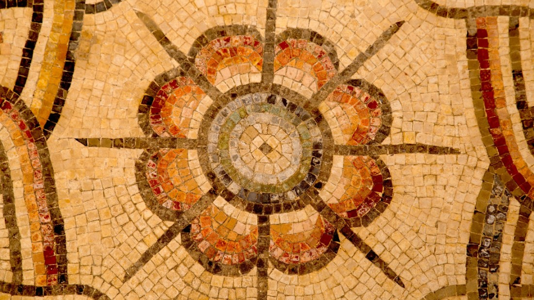 The mosaic covers nearly 9,688 square feet (900 square meters).