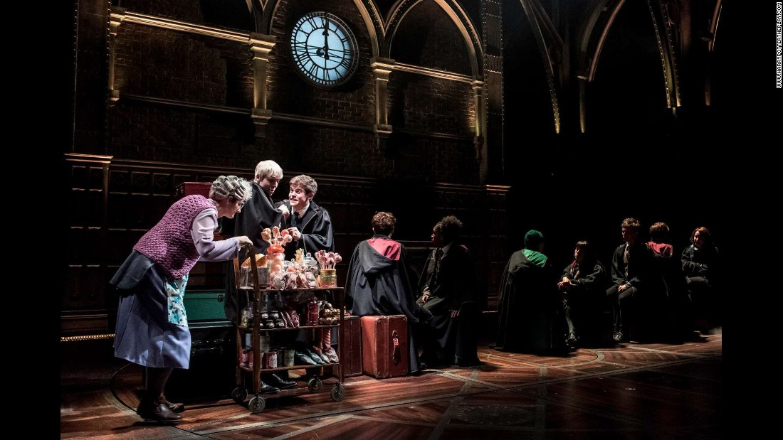 "The play ""Harry Potter and the Cursed Child"" premiered in London on Saturday, July 30. Dedicated fans of the wizard saga <a href=""http://money.cnn.com/2016/08/15/news/harry-potter-tickets/"" target=""_blank"">have traveled across the world</a> to see the performance."