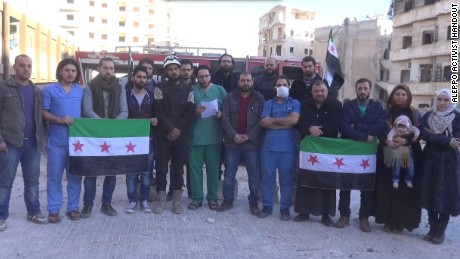 A message from the people of Aleppo to the world