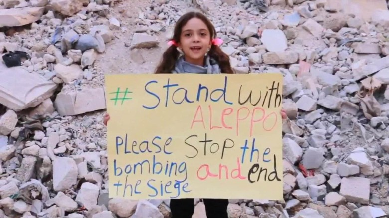 Syrian girl, evacuee gets presidential meeting
