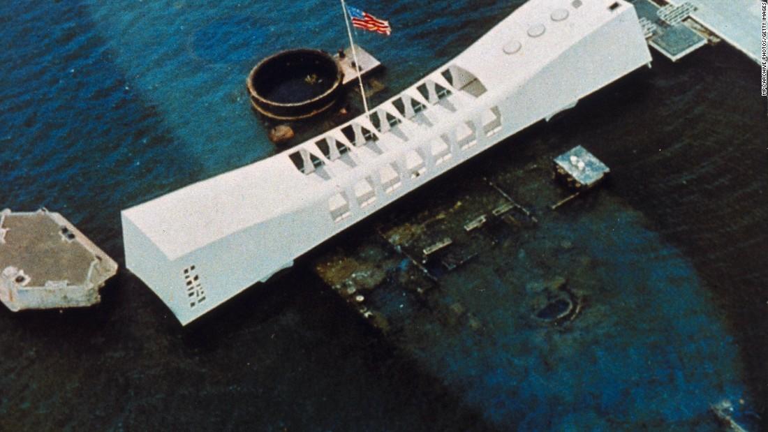 One of the last survivors of the USS Arizona was interred on the sunken warship