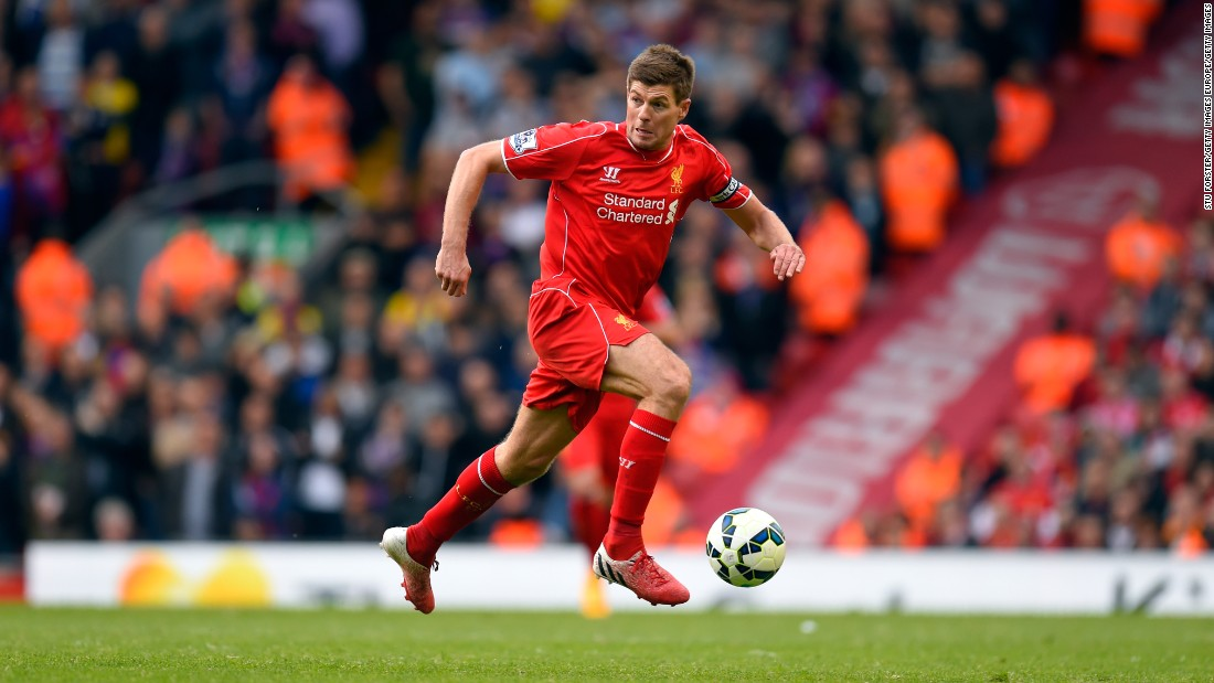 Steven Gerrard enjoyed a 19-year playing career, making over 700 appearances for Liverpool and winning 10 major trophies.