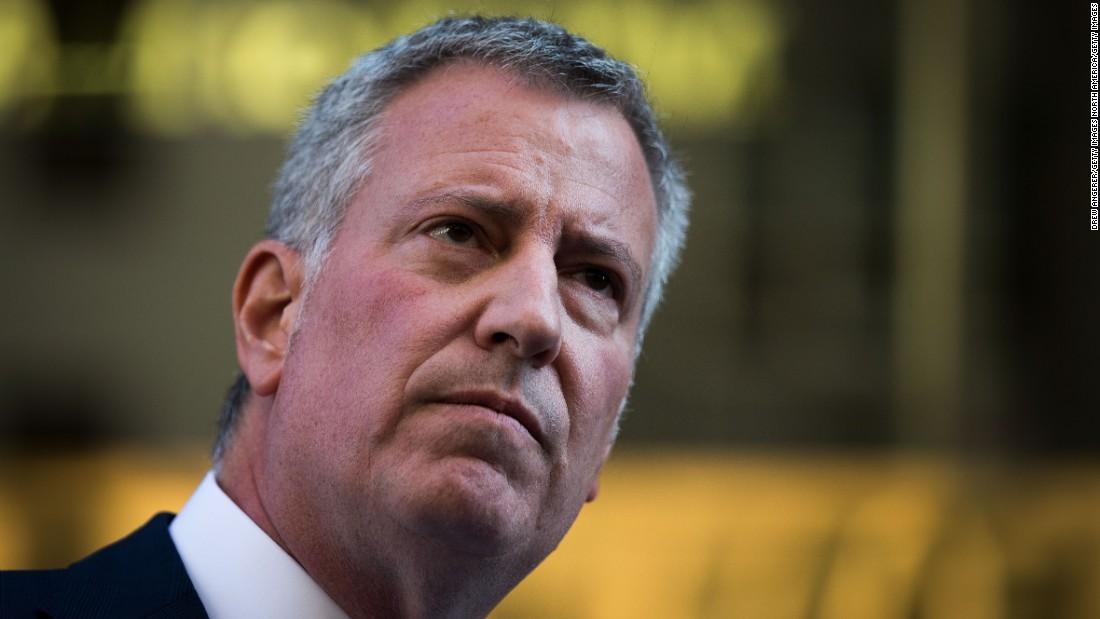 Bürgermeister von NYC: Nur ausreichend medizinisch versorgt zu Letzte Woche