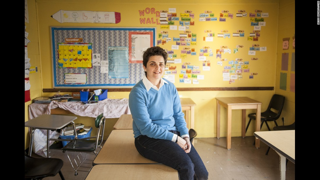 CNN Hero Luma Mufleh is the founder of the Fugees Family, a nonprofit that runs a school and soccer program serving the needs of the refugee population in Clarkston, Georgia.