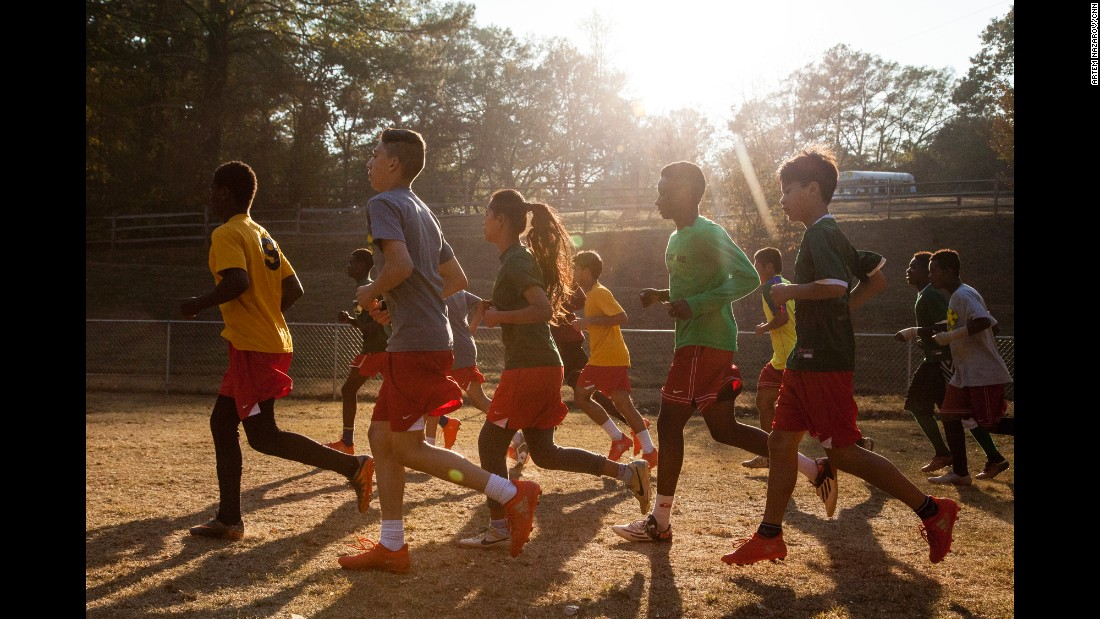 The Fugees Family offers year-round soccer programs to boys and girls, along with a specialized education.