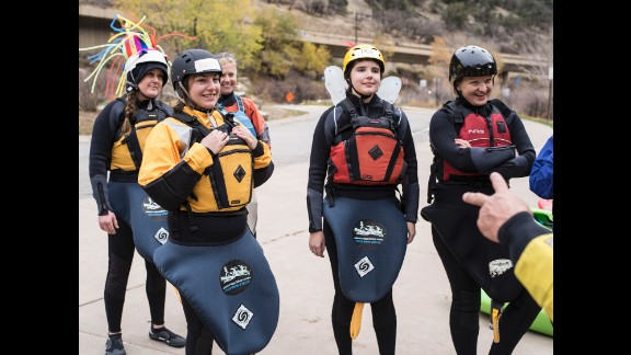 First Descents hosts free weeklong outdoor adventure camps for young adult cancer fighters and survivors based around kayaking, surfing and rock climbing.