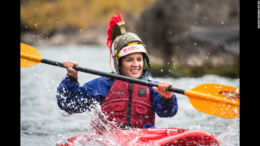 First Descents' camps take place at picturesque locations, where young adult cancer fighters and survivors challenge themselves and connect with others who have battled cancer.