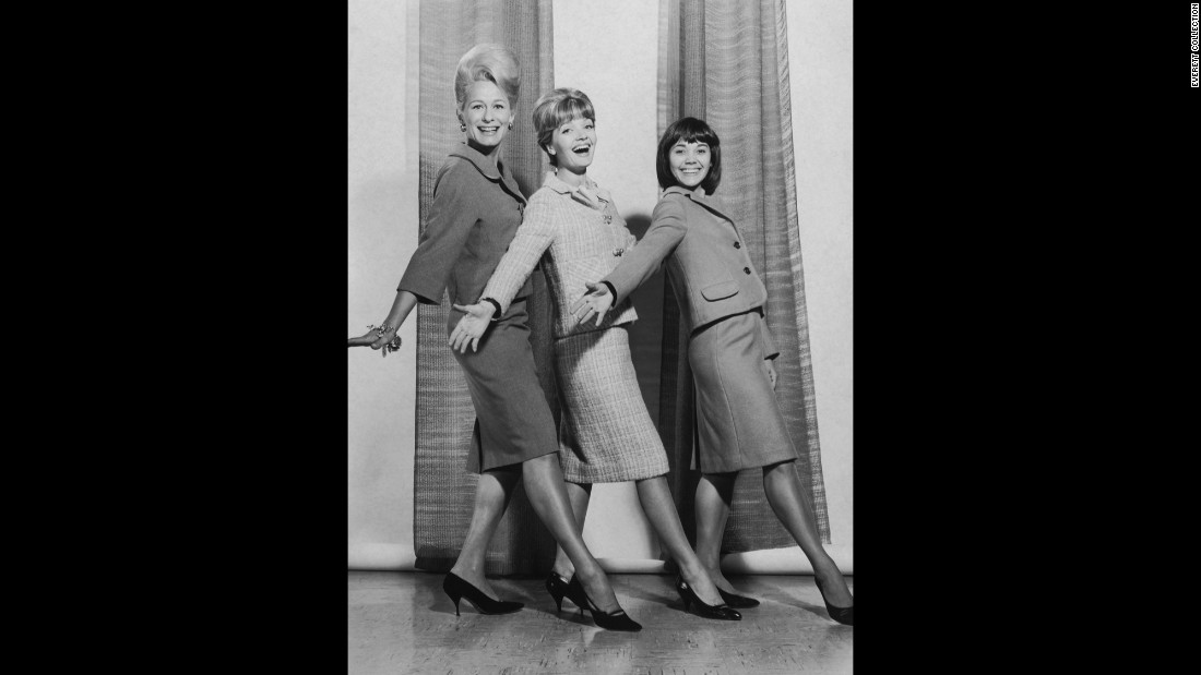 "Henderson, center, stars in ""The Bell Telephone Hour"" with Gretchen Wyler, left, and Susan Watson."
