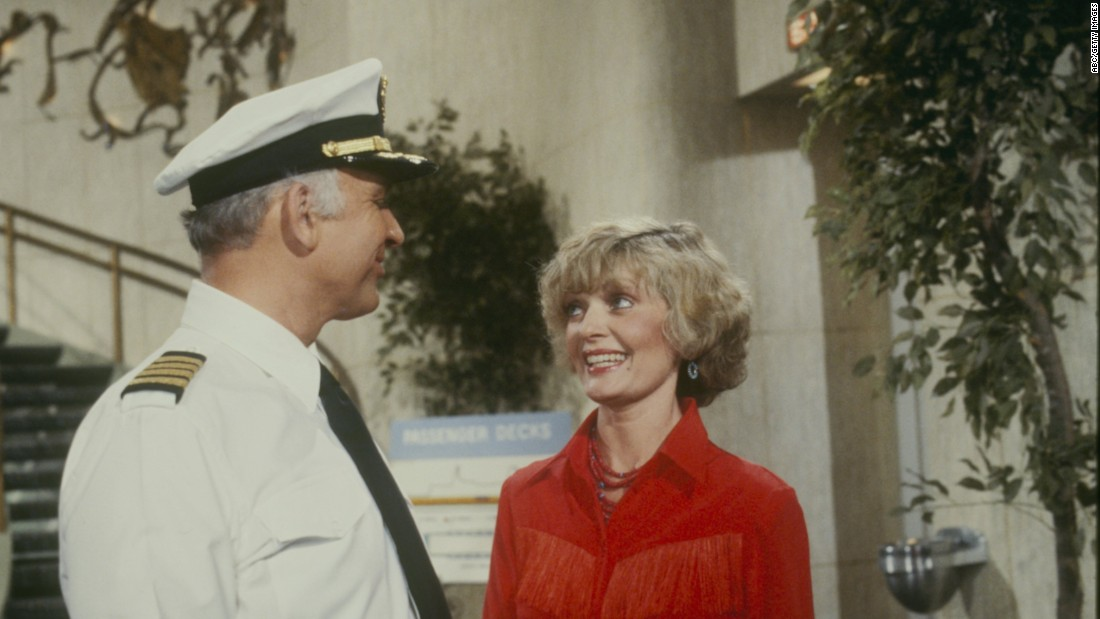 "Henderson appears with Gavin MacLeod on an episode of ""The Love Boat"" in 1981."