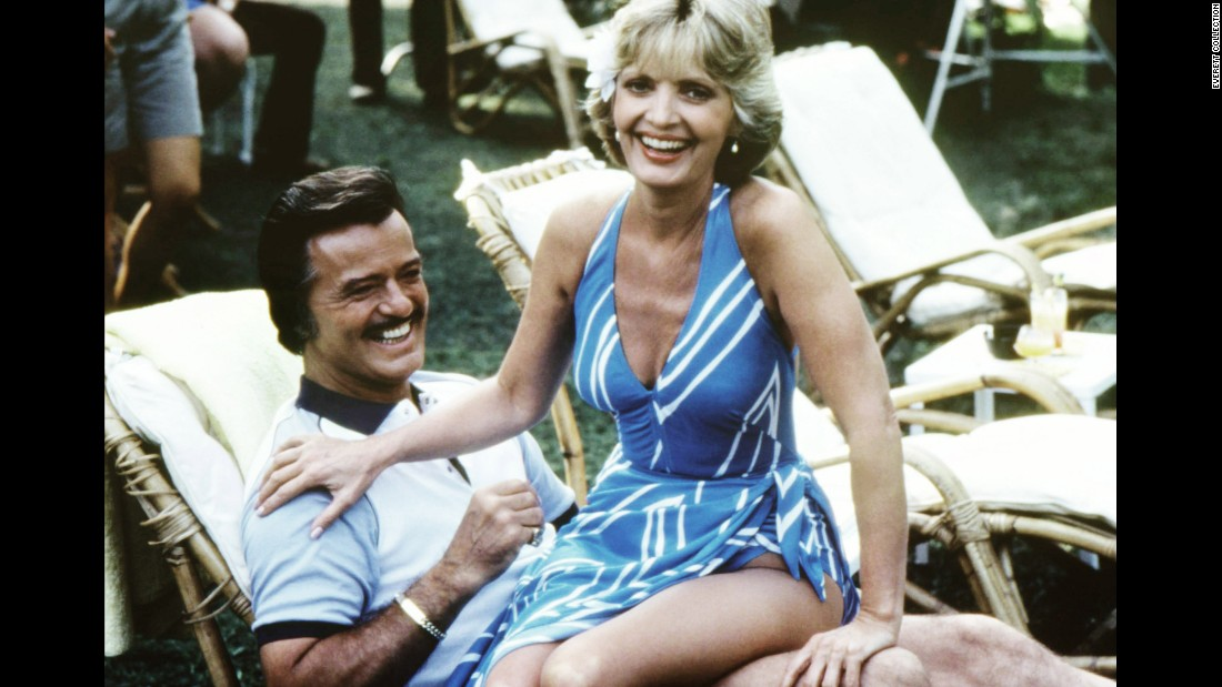 "Robert Goulet and Henderson act in a 1983 episode of ""Fantasy Island."""