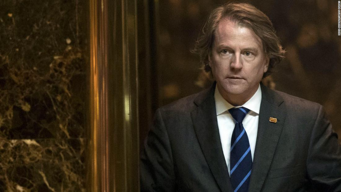 House Democrats Prepare To Punish Don McGahn After White House Directs Former Counsel Not To Testify