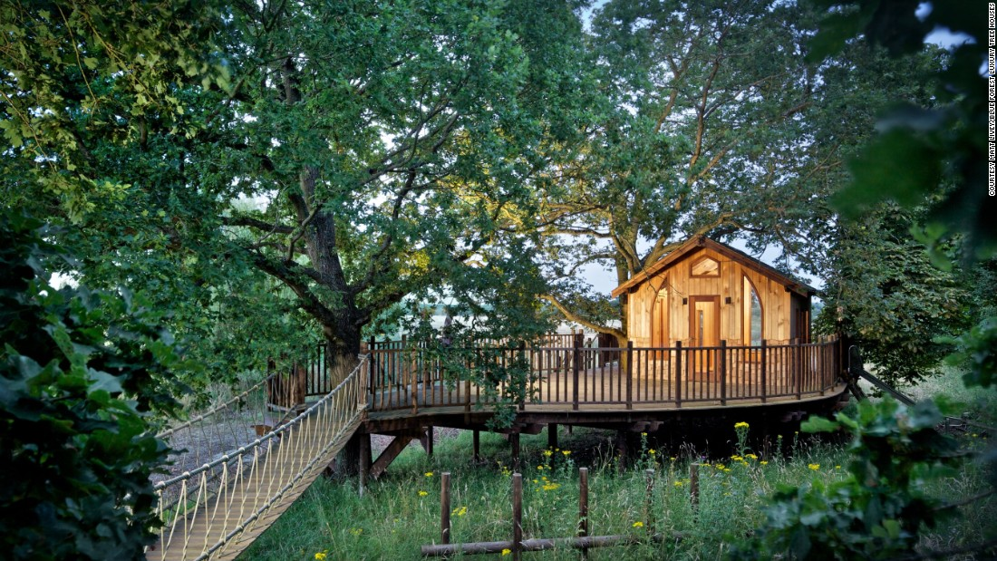 Is the treehouse the pinnacle of sustainable living? - CNN Style