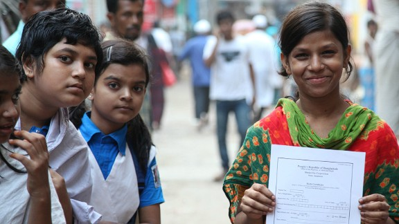 In some rural villages, birth registration is almost non-existent, according to Plan International.