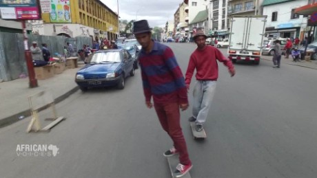 Changing the face of Madagascar, and Ethiopia one skate at a time