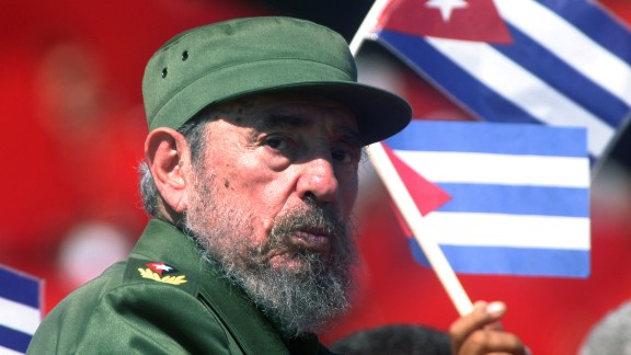Castro at the May Day commemoration of Revolution Square in Havana in 2004. He held tightly to his belief in a socialist economic model and one-party Communist rule, even after the Soviet Union
