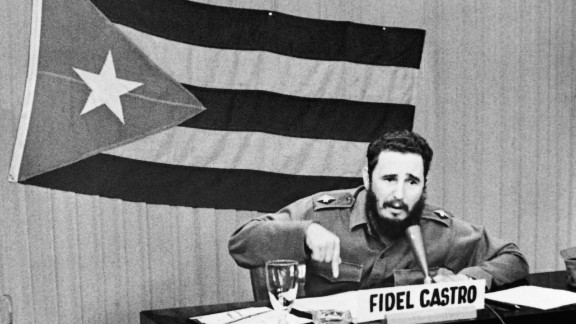 Castro announces a general mobilization after the blockade by President John F. Kennedy in 1962.