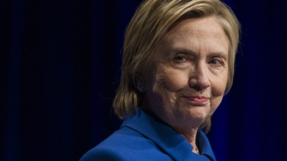 Hillary Clinton addresses the Children's Defense Fund's Beat the Odds celebration at the Newseum in Washington, Wednesday, November 16, 2016.