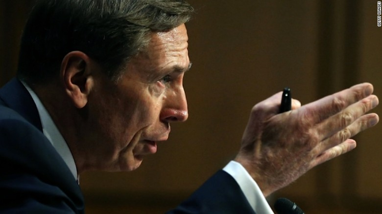 Petraeus urges travel ban be settled quickly