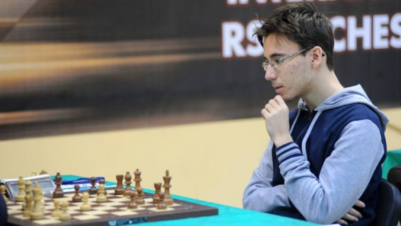 Yuri Eliseev, pictured, first started playing chess at school. He became world junior champion (under 16s) in 2012.