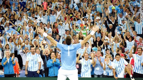 Juan Martin del Potro was the Argentina hero as it claimed the Davis Cup for the first time in its history.