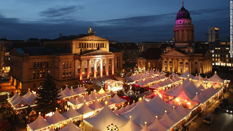 christmas markets are an integral part of german christmas tradition and draw large crowds of tourists