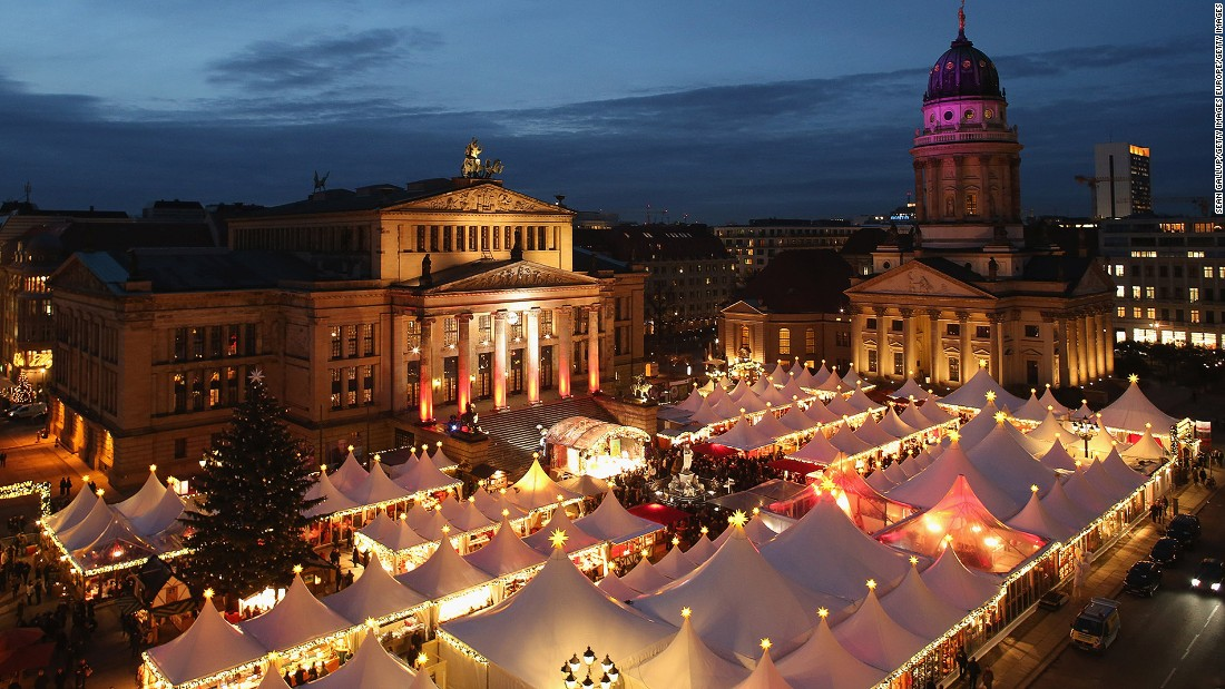 Suspects Held In Supposed German Christmas Market Plot