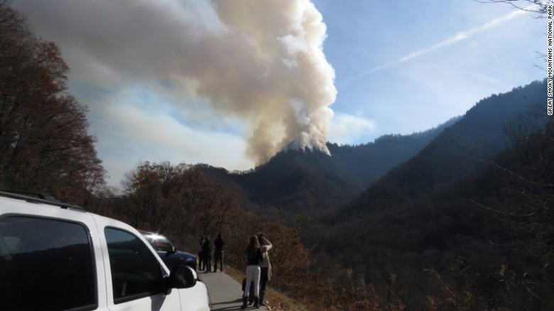Fires force evacuations in tourist area