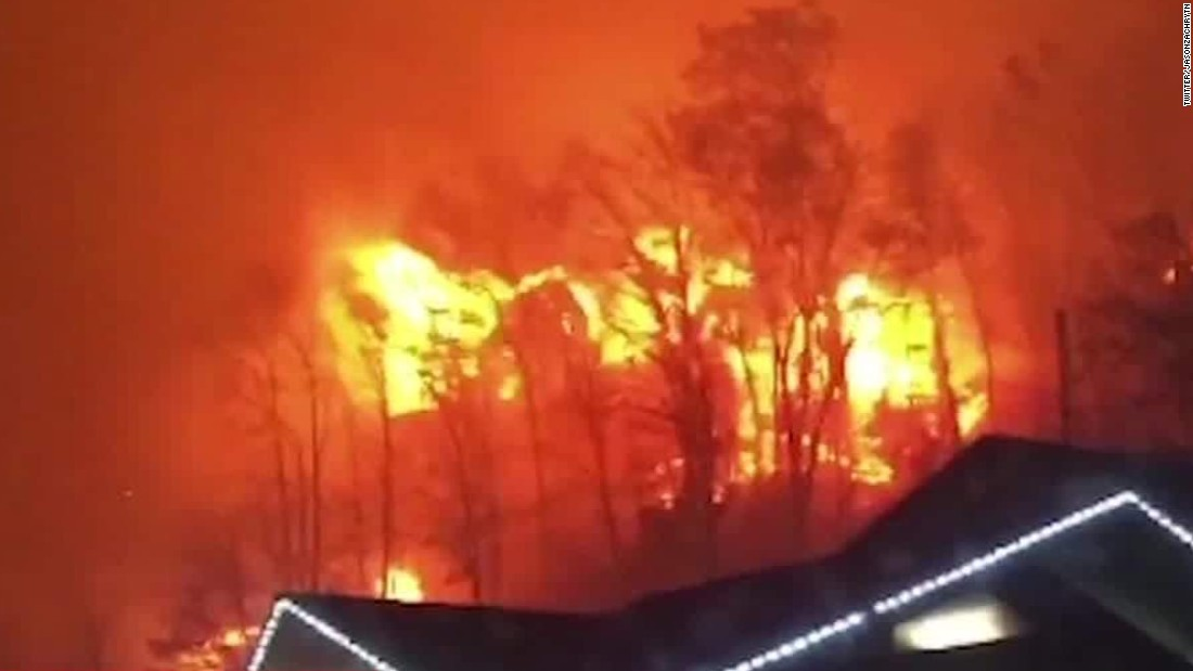 Gatlinburg, TN residents escape 'firestorm'