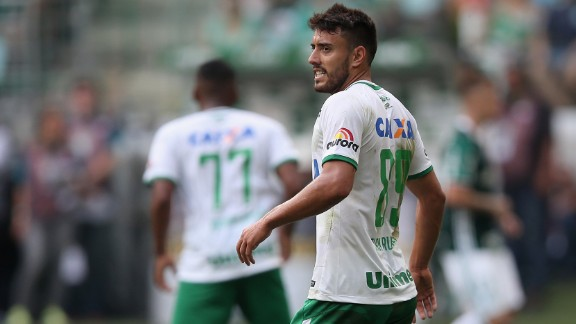 Chapecoense defender Alan Luciano Ruschel was among the survivors in the plane crash.