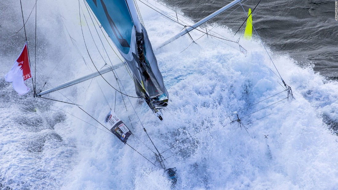 "Each year the <a href=""http://www.yachtracingimage.com/"" target=""_blank"">Mirabaud Yacht Racing Image</a> highlights some of the best sailing pictures from across the world. This year's winner was French photographer Jean-Marie Liot, who depicted Morgan Lagravière training ahead of the Vendée Globe, entirely submerged by a wave at high speed."