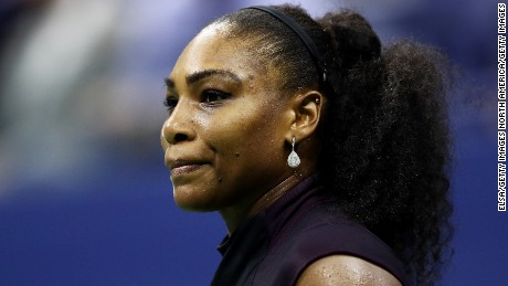 Serena Williams hasn't played since the US Open.
