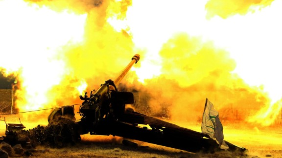 Syrian rebels fire at regime forces in Aleppo. Calls are growing for a political solution to end the war.