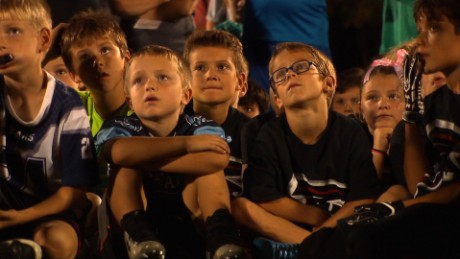 Kids & Pros is a non-profit organization that teaches football and character to children.