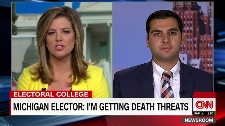 College voter: I've had death threats