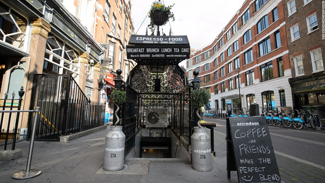Revolution around the u-bend for London\'s public toilets - CNN Style