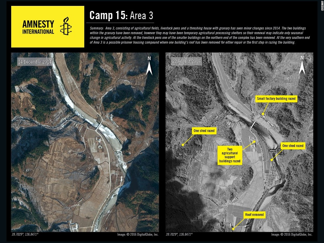 Forced labor is common at North Korean prison camps.