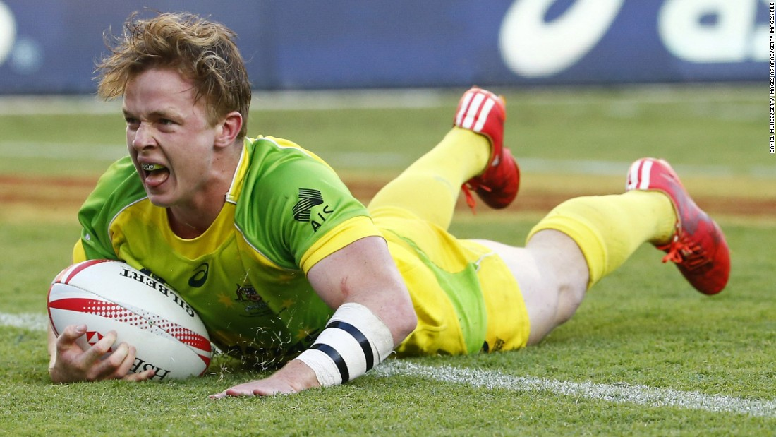 "Henry Hutchison (above) was last season's rookie of the year, scoring 27 tries, and the 19-year-old will again be a key player for Australia. Sam Caslick, brother of <a href=""http://cnn.com/2016/12/01/sport/charlotte-caslick-world-series-rugby-sevens/index.html"" target=""_blank"">Olympic women's gold medalist Charlotte Caslick</a>, is one of the new faces in the squad but her boyfriend, captain Lewis Holland, is ruled out with long-term injury."