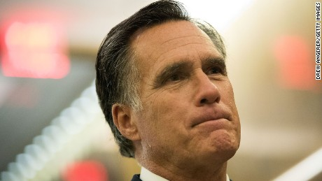 Romney could become Trump's new Washington foe