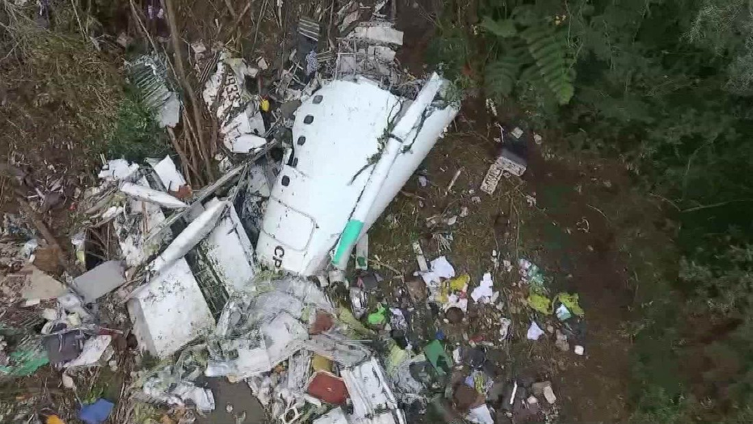 Recordings emerge from Colombia plane crash