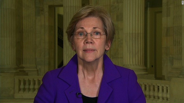 Sen. Elizabeth Warren slams Trump cabinet pick