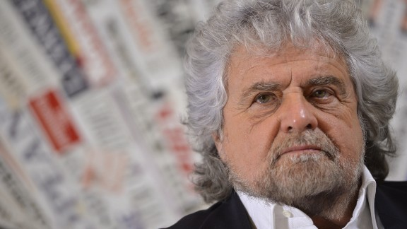 Beppe Grillo has campaigned for a No vote in Sunday