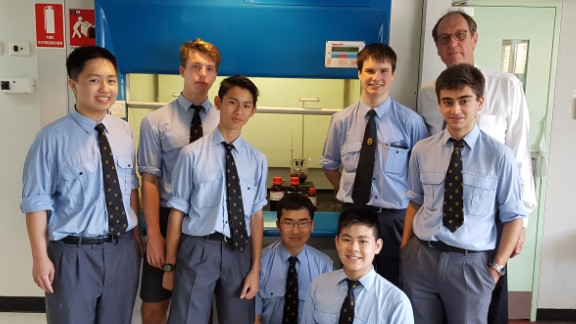 The boys did a very good job according to a University of Sydney scientist who tested the results.