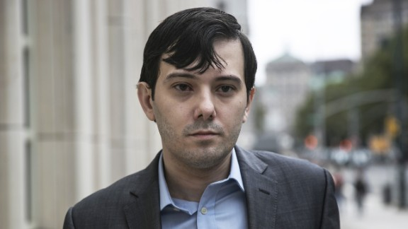 Martin Shkreli, former chief executive officer for Turing Pharmaceuticals, became notorious.