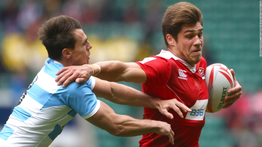 "German Davydov (right) enjoyed a strong debut series as Russia retained its core team status at the finale in London, with the 22-year-old's 20 tries in 53 games the team's second-best effort behind veteran Vladimir Ostroushko (26 in 40). Russia's men and women <a href=""http://cnn.com/2016/06/17/sport/rugby-sevens-olympics-russia-putin/"" target=""_blank"">missed out on an Olympic place.</a>"