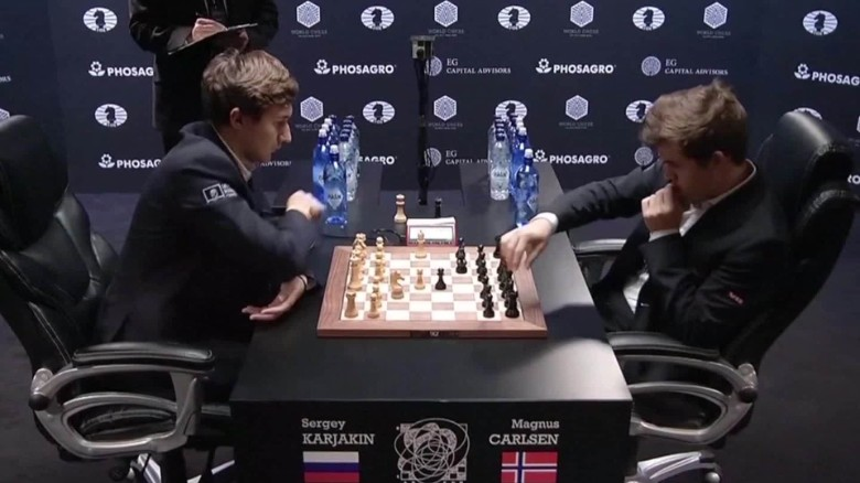 Chess champion wins epic battle