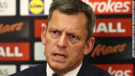FA chief executive Martin Glenn spoke to media Thursday.