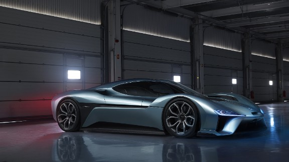 The NIO EP9 produces an impressive 1,340 horsepower and goes from 0-60 mph in just 2.7 seconds. On a full charge the car has a range of 265 miles (426 kilometers).