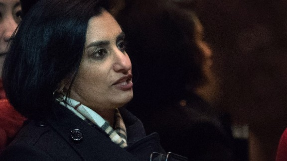NEW YORK, NY - NOVEMBER 22: Seema Verma, president and founder of SVC Inc., gets into an elevator as she arrives at Trump Tower, November 22, 2016 in New York City. President-elect Donald Trump and his transition team are in the process of filling cabinet and other high level positions for the new administration. (Photo by Drew Angerer/Getty Images)