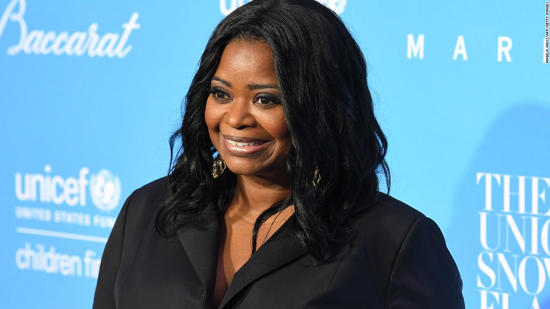 "Octavia Spencer joins her ""Hidden Figures"" co-star as a celebrity guest presenter to help celebrate the 2016 CNN Heroes top 10."