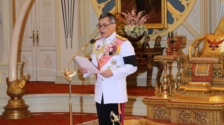 Thai crown prince becoming King